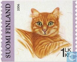 Postage Stamps - Finland - Cats