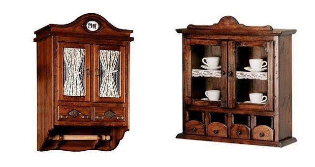 дневник дизайнера: Деревянные буфеты в стиле кантри для загородного дома от Maggi Massimo