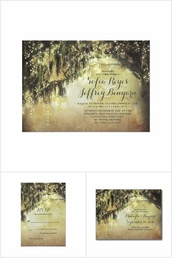 Spanish Moss Covered Tree Wedding Collection