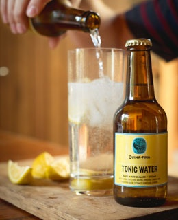 Quina Fina Tonic Water.  Was my drink of choice at La Boca Loca when I was pregnant.  Still love it!