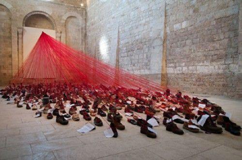 Biennale d'art contemporain de Melle, 2011, Eglise Saint-Savinien