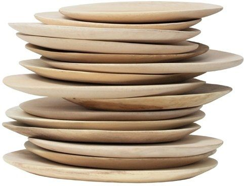 Gezellige bordjes van HK-living de afmetingen kunnen iets verschillen, maar dat maakt het juist speels! Ze zijn gemaakt van mango hout.
