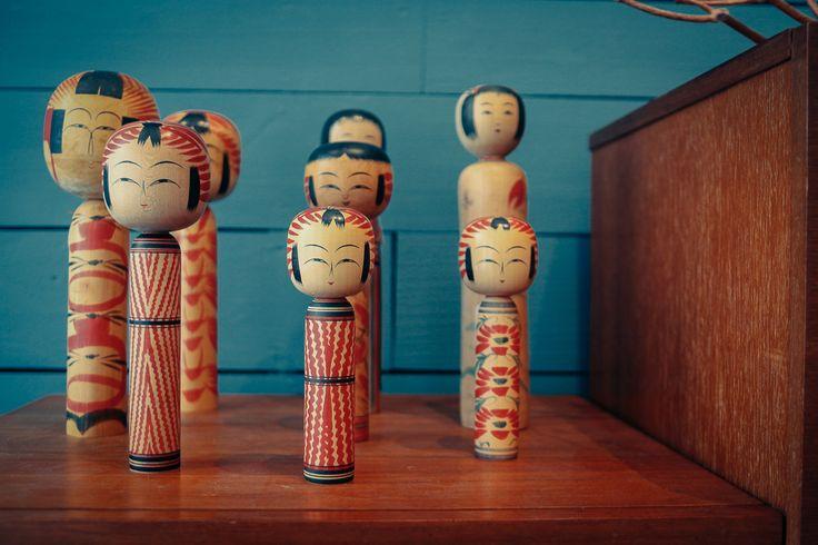 kokeshi porte bonheur japonais au 101 à bordeaux