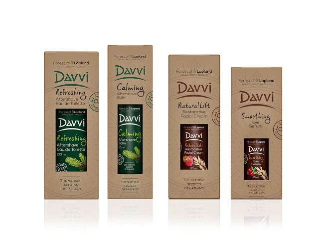 Davvi - The Natural Secrets Of Lapland on Packaging of the World - Creative Package Design Gallery