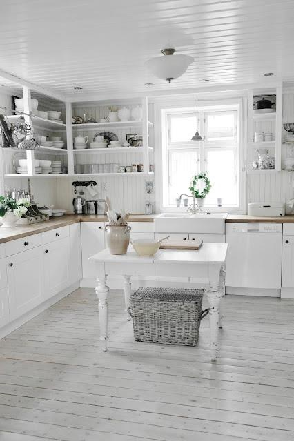 If I lived alone my whole house would be white, I love it.
