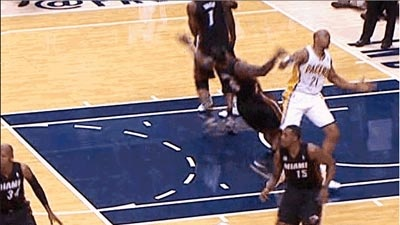 Vine mashup of Boyz N The Hood and LeBron flopping.  It's amazing and at www.chatsports.com/deanslist/day/06-03-2013 & http://www.terezowens.com/lebron-james-flopcity-vine/