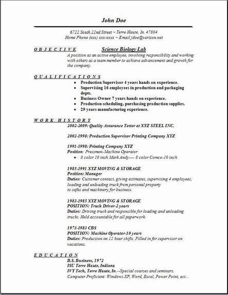 7 best images about scannable resumes on pinterest science resume template