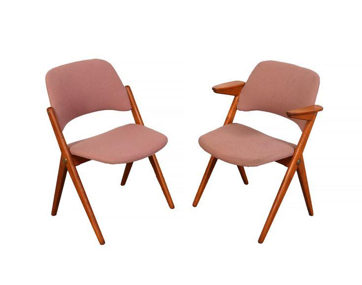 Bengt Ruda Dining Chairs for Nordiska Kompaniets, Triva Chair Danish Modern by HearthsideHome on Etsy