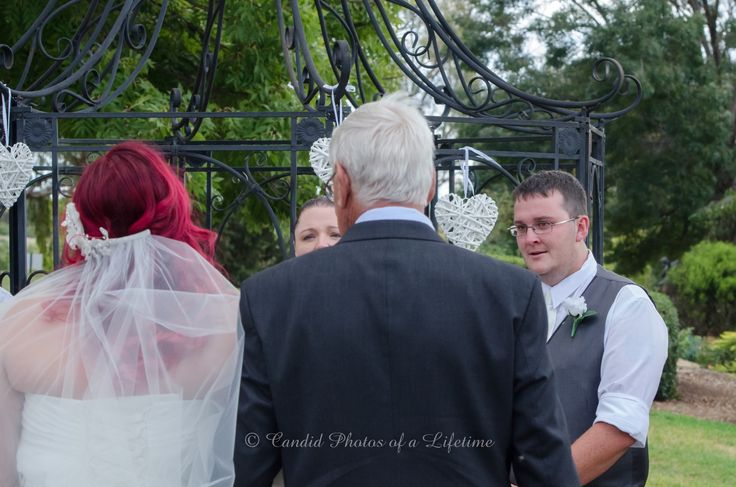 Wedding photographer, Candid Photos of a Lifetime  The Groom's 1st look at his beautiful bride