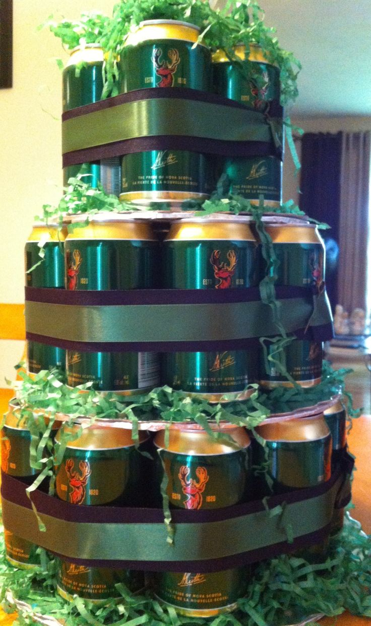 Ideas 70Th Birthday Dad Holiday Beer Cake