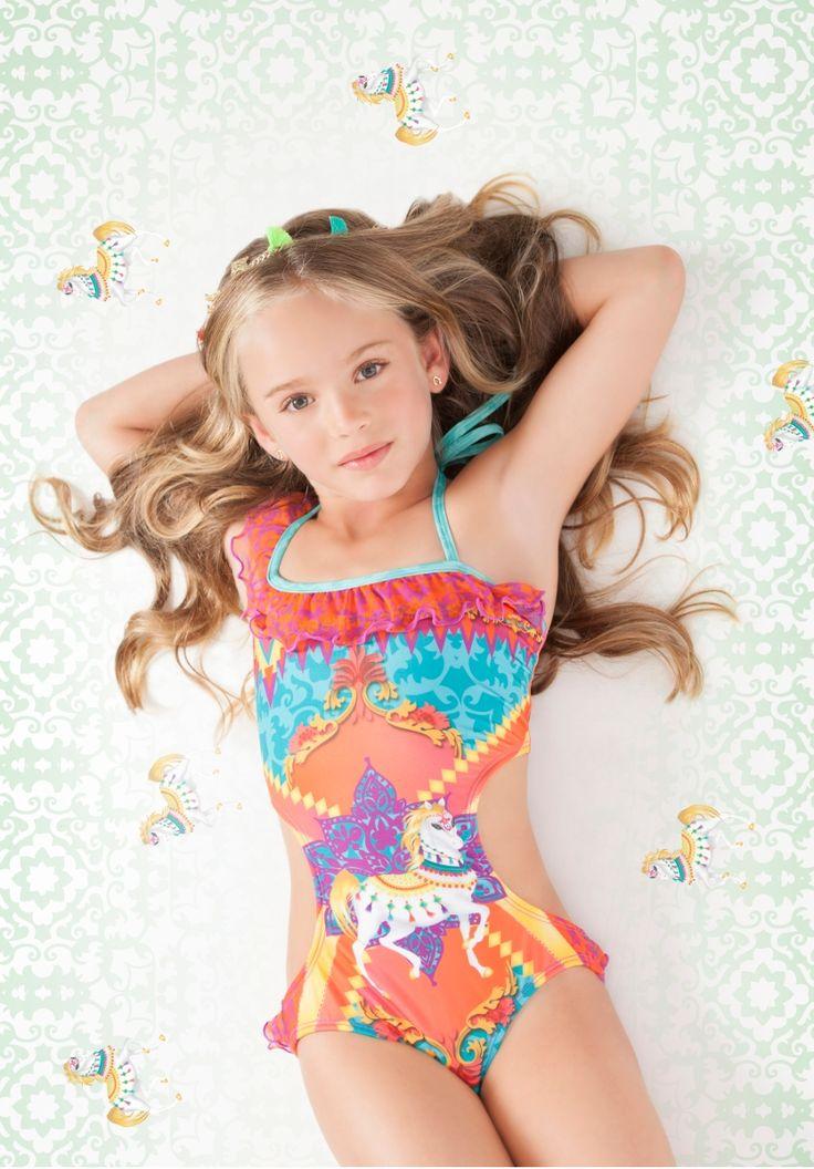 Bindi One Piece | The Cabana Shop | Kids Swimwear | Cute ...