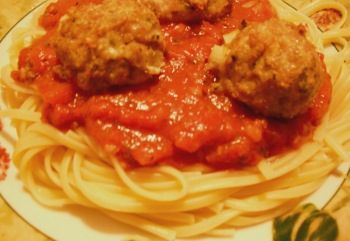 Baked Ground Chicken Meatballs Recipe (a good idea for a freezer meal exchange)