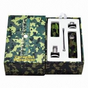 Camo Dry Herb Vaporizer Kit + Charger + More....
