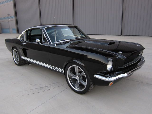 Raven Black '65 Mustang GT 350 Fastback 2 plus 2