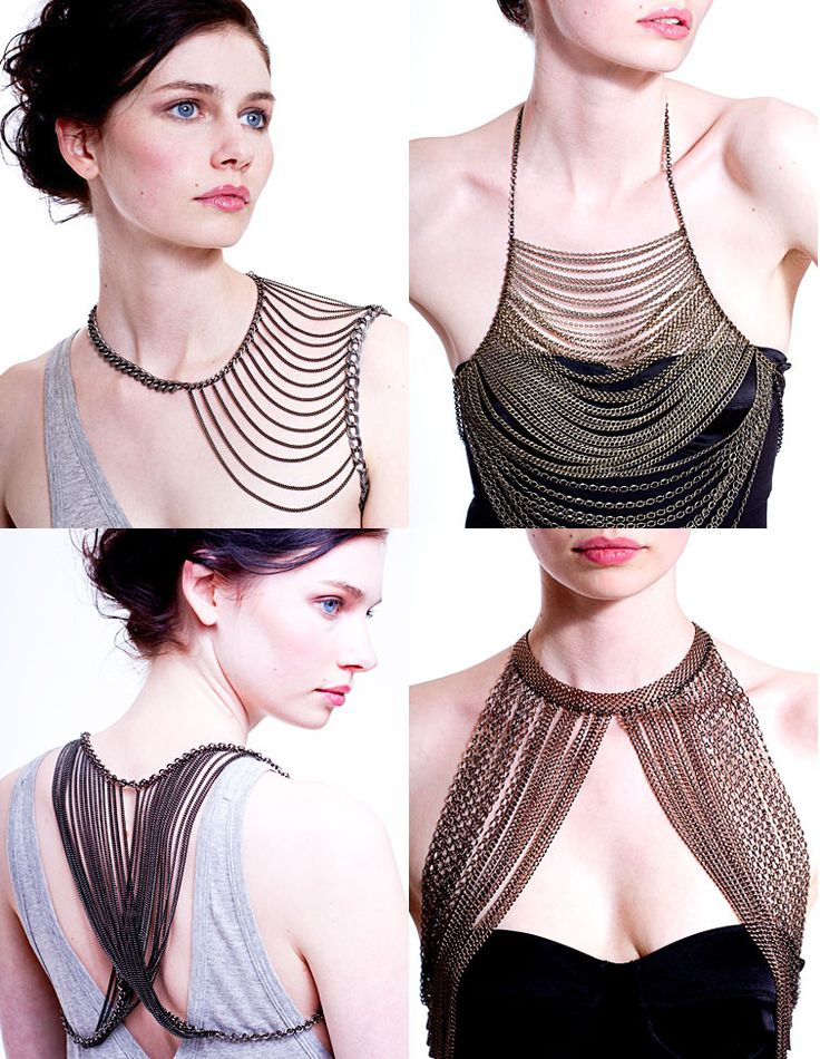 I can say yes to all of these. They either frame the cleavage or a shoulder. Plus it is a multilayered look.