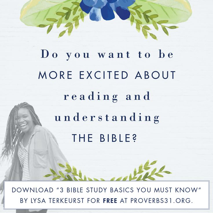 FREE Bible study basics from Lysa TerKeurst, from Proverbs 31 Ministries. Download here: http://lysaterkeurst.com/bible-study-basics/?sf18061492=1