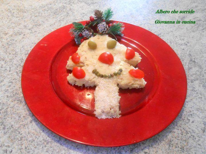 Albero che sorride, senza sale, piatto per bambini, giovanna in cucina