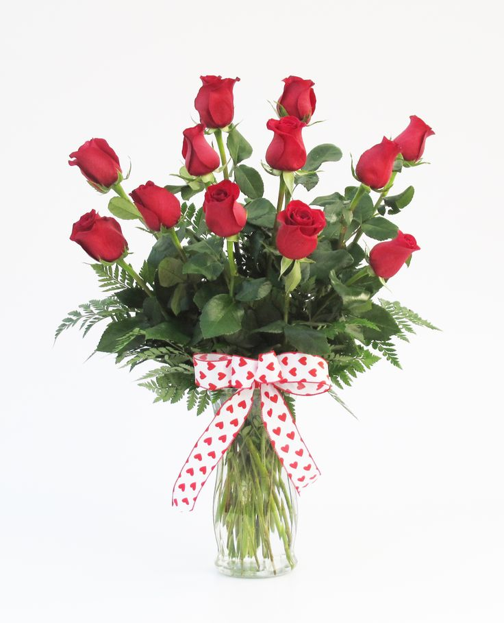 Fancy Red Roses With A Super Cute Bow! Perfect For Valentineu0027s Day. Atlanta  Florist