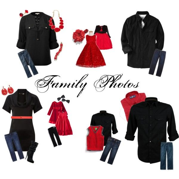 Christmas Family Photo Outfits 2012