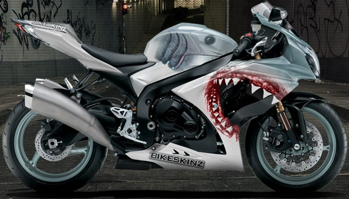 Bikeskinz Motorcycle Wrap Jawz Motorcycles