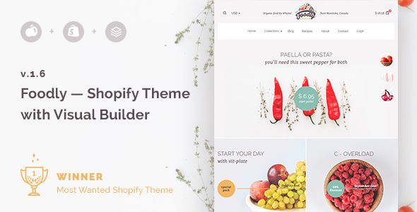 FOODLY – ONE-STOP SHOPIFY GROCERY SHOP