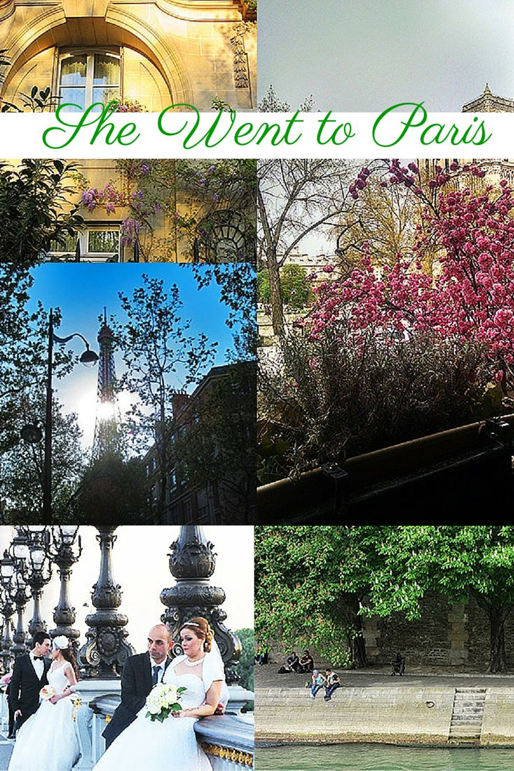 Because it was April....and April in Paris is always a good idea
