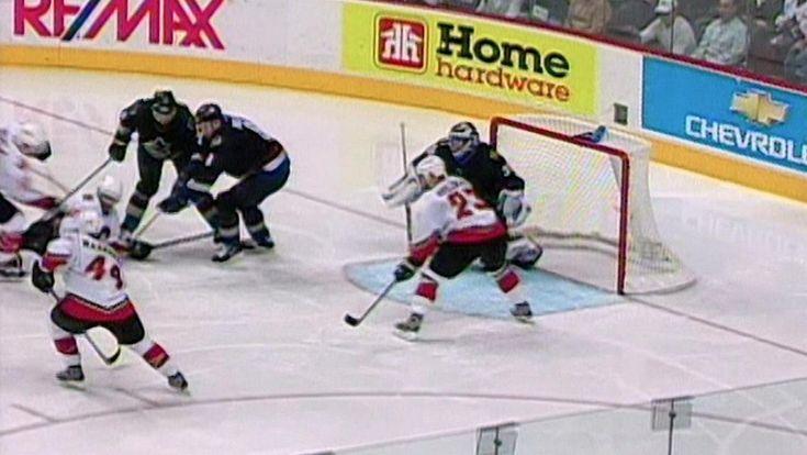THIS DATE IN NHL HISTORY:  May 3: Martin Gelinas ends third playoff series with OT goal  Plus: Jaromir Jagr wins first scoring title with Penguins; Mike Bossy scores three times to power Islanders  -  May 3, 2017