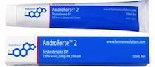 #AndroForte® 2% contains the active ingredient #testosterone and is used to treat testosterone deficiency in men.
