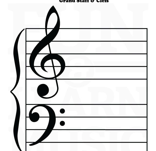13 best Staff  Clefs images on Pinterest Music worksheets, Music