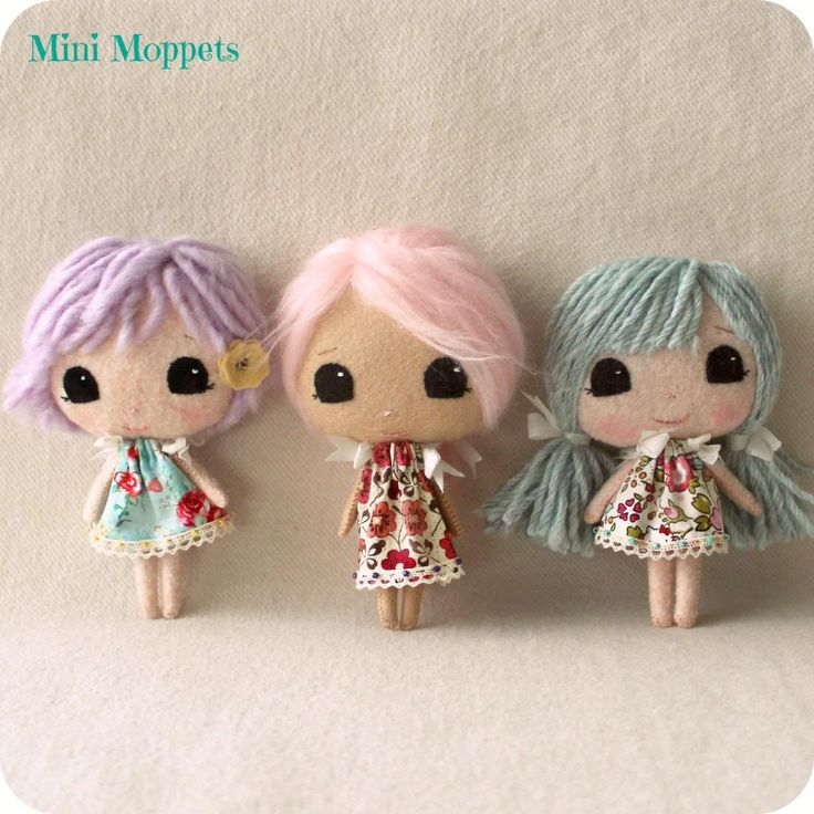 Mini Moppets pdf Pattern