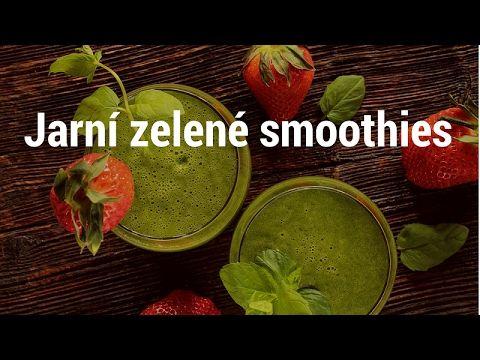 smoothies - zelené koktejly recepty