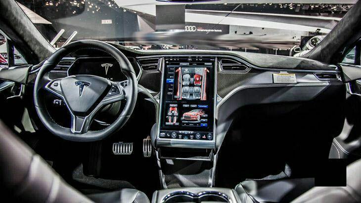 Tesla Interior Model S 2017