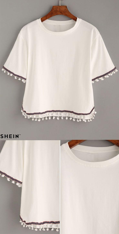 Blusa branca ❤