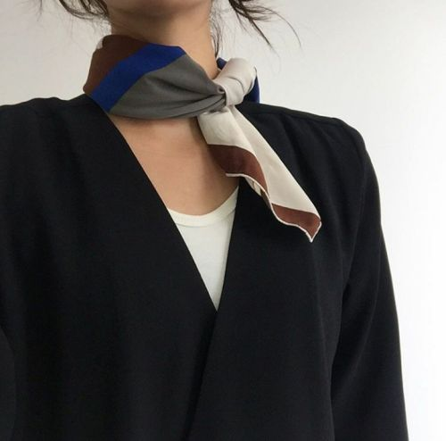 Inspiration- silk scarf obsession