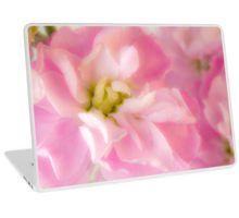 Laptop Skin. #pinkstock #pinkstockmatthiola #pinkstockmacro #macro #pinkflowermacro #sandrafoster #sandrafosterredbubble