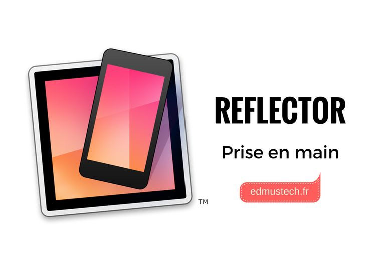 Reflector pour recopier les écrans de smartphones et tablettes (Concours)      Reflector, application Mac-PC permet la recopie vidéo des écrans de terminaux mobiles (mais pas que). premier épisode : recopie d'un ipad à partir d'un mac. http://edmustech.fr/2016/10/12/reflector-recopie-ecran-tablette/?utm_campaign=crowdfire&utm_content=crowdfire&utm_medium=social&utm_source=pinterest
