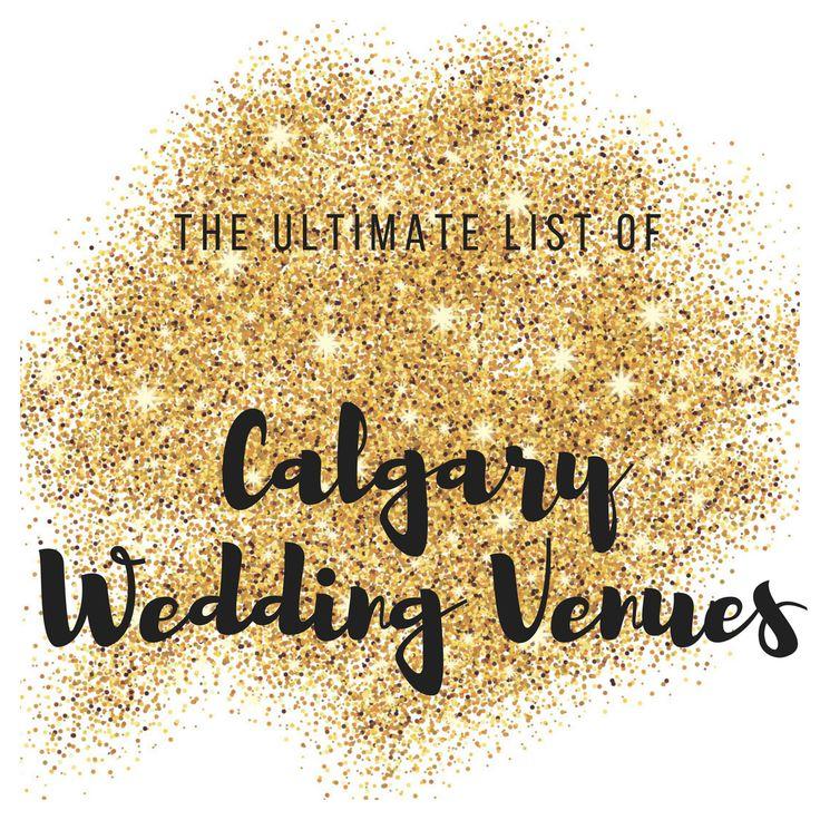 Complete List of Calgary Wedding Venues | CalgaryFeatures