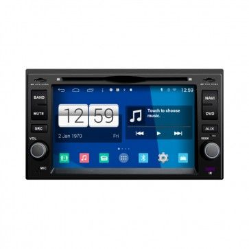 Autoradio GPS DVD Kia Forte S160 Android 4.4.4 avec HD Ecran tactile Support Smartphone Bluetooth kit main libre Microphone RDS CD SD USB 3G Wifi TV MirrorLink