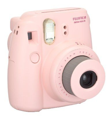 Fujifilm Instax Mini 8 Instant Film Camera (Pink): Camera & Photo
