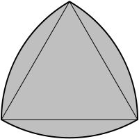 Reuleaux triangle.