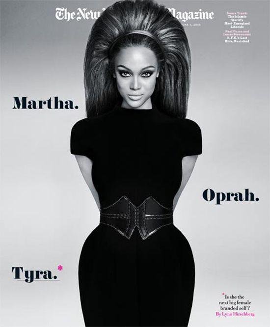#magazines #covers #newyorktimesmagazine feat. Tyra Banks ~ brilliant