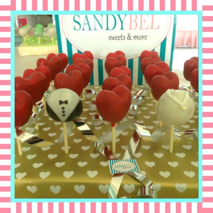 Lovely Wedding  #sandybel #cakepops #wedding #hochzeit #liebe #herz #lovely #sweets #nürnberg #fürth #cupcakes #kuchen