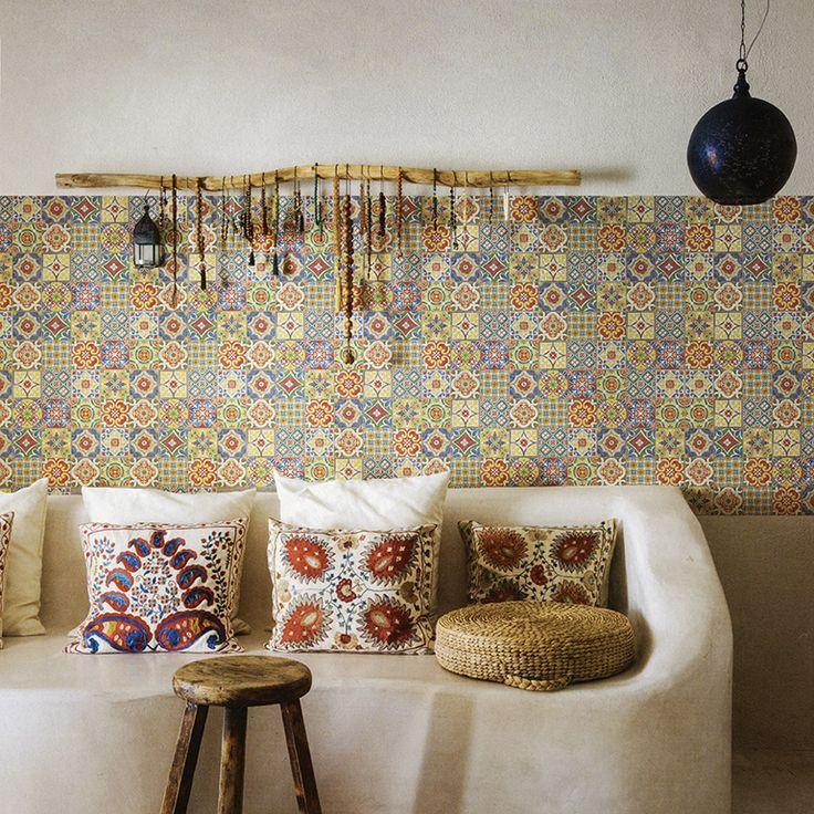 Sicilia  Mosaico 30x30cm #02 Colour