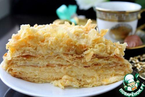 """Слоеное тесто для торта """"Наполеон"""" - кулинарный рецепт(комментарии читать!)"""