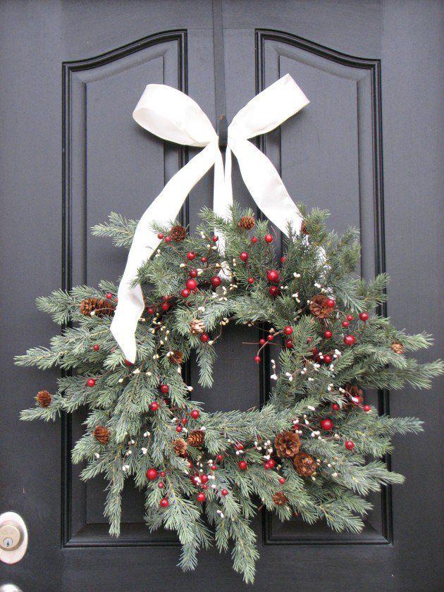 best 25 artificial christmas wreaths ideas on pinterest artificial flowers for sale. Black Bedroom Furniture Sets. Home Design Ideas