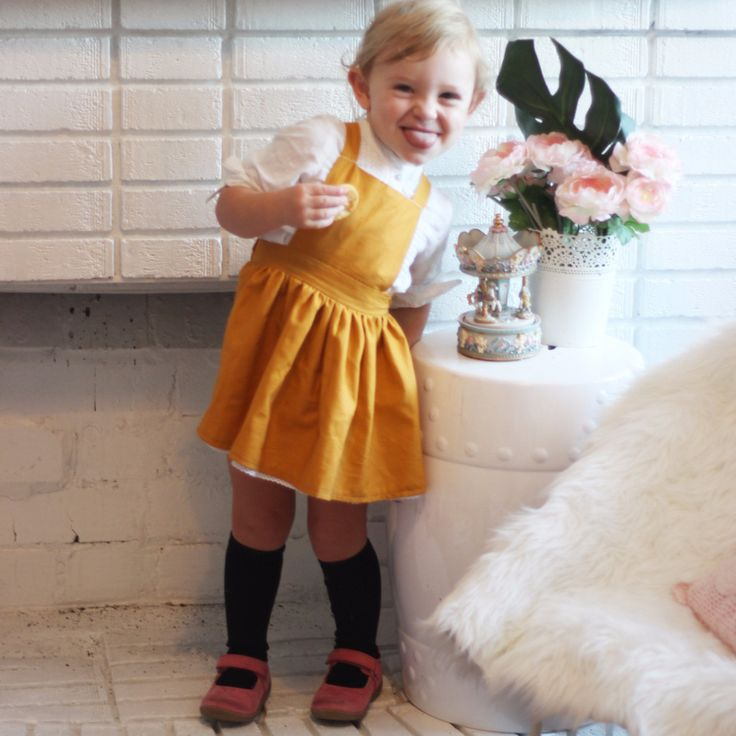 The Paige Pinafore