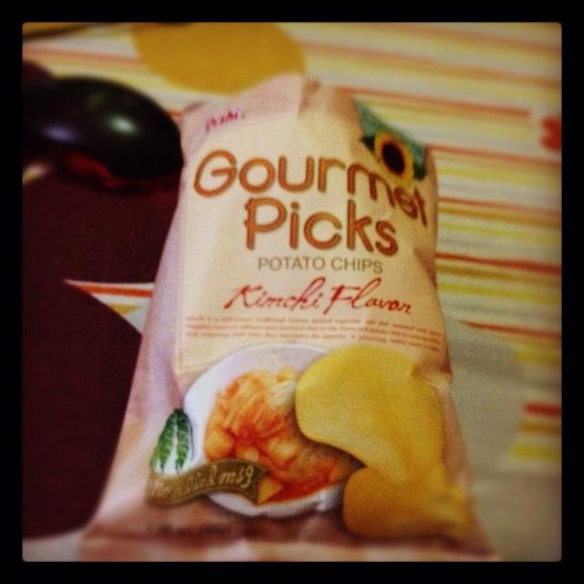 Kimchi Flavor Potato Chips
