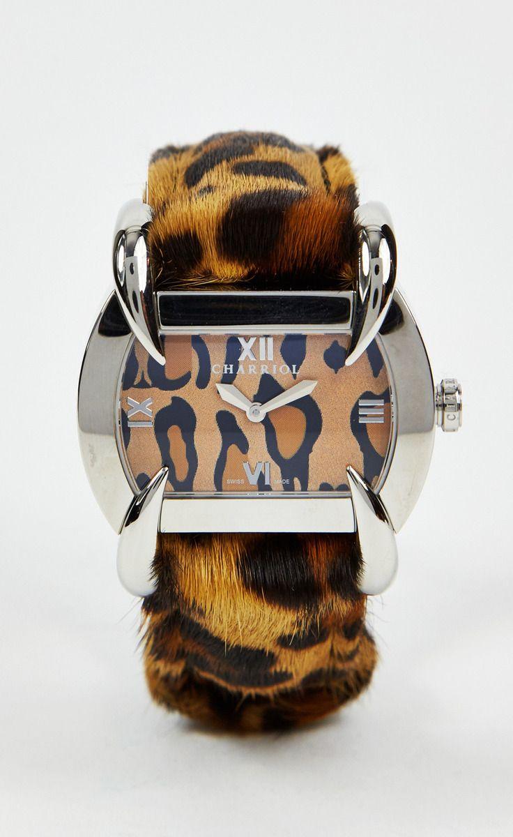 Philippe Charriol Leopard Watch   VAUNTE