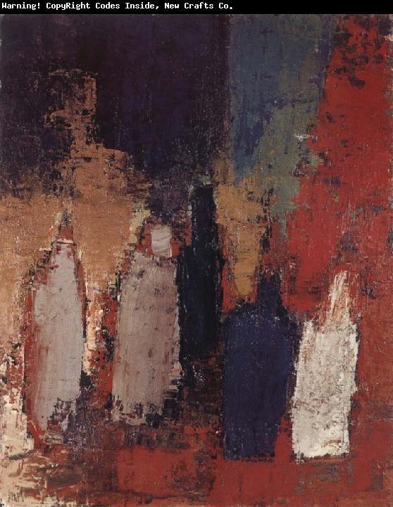 Nicolas de Staël - Abstract Art - Bottle