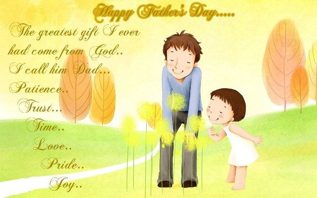 Happy Father's Day Images From Daughter 2018 In English Download Free#fathersd...
